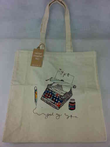 "Shopper Bag ""Just my Type"" Ulster Weavers"
