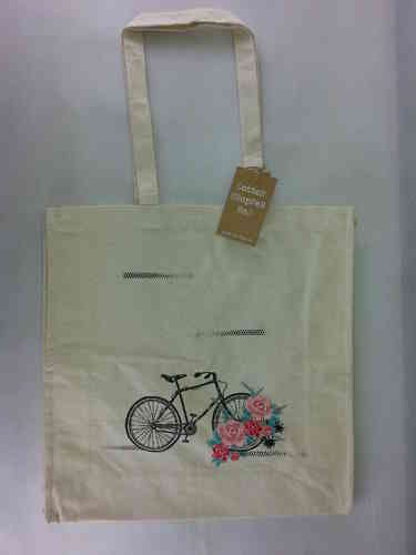 "Shopper Bag ""Bicycle"" Ulster Weavers"
